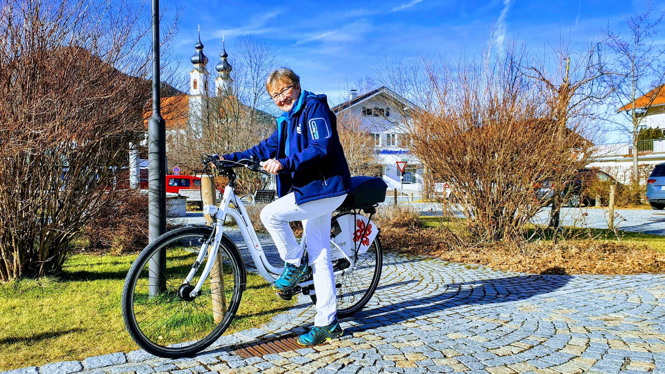 Pflege dahoam - mit dem Fahrrad
